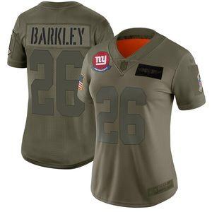 Women New York Giants Saquon Barkley Jersey